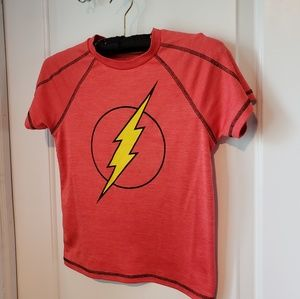 The Flash Red Short Sleeve Shirt - Boys Size 8